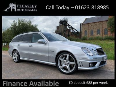 Mercedes-Benz E Class Estate 6.2 E63 AMG G-Tronic 5dr