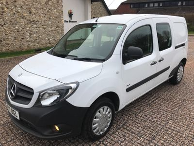 Mercedes-Benz Citan Other 1.5 109 CDi BlueEFFICIENCY Dualiner L3 EU5 (s/s) 6dr (5 Seat)