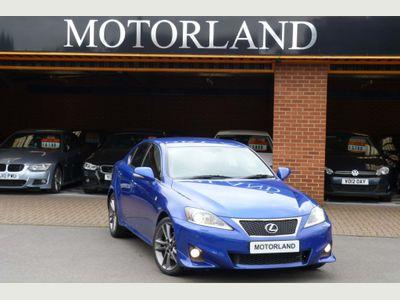 Lexus IS 200 Saloon 2.2 TD F Sport 4dr
