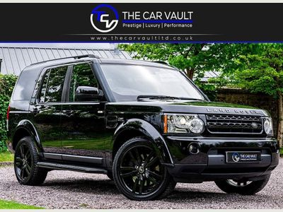 Land Rover Discovery 4 SUV 3.0 SD V6 HSE Luxury Auto 4WD 5dr