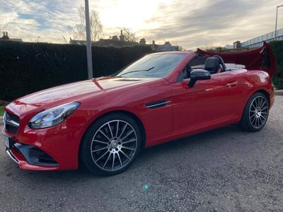 Mercedes-Benz SLC Convertible 2.0 SLC200 AMG Line G-Tronic (s/s) 2dr
