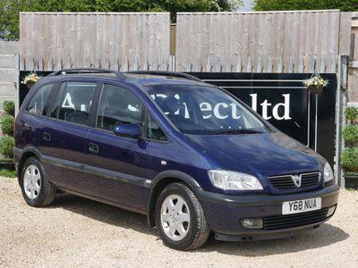Vauxhall Zafira MPV 1.8 i 16v Elegance 5dr