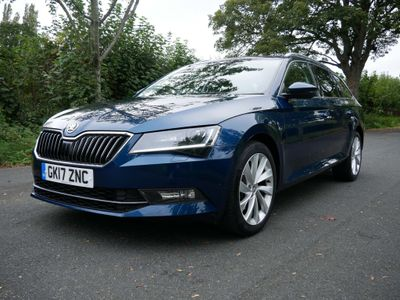 SKODA SUPERB Estate 2.0 TDI SE L Executive 4WD (s/s) 5dr