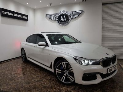 BMW 7 Series Saloon 4.4i V8 M Sport Auto (s/s) 4dr