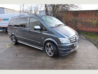 Mercedes-Benz Vito Other 3.0 122CDI Dualiner Sport X Long Panel Van 5dr (EU5)