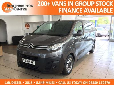 Citroen Dispatch Panel Van 1.6 BlueHDi 1000 X M 6dr
