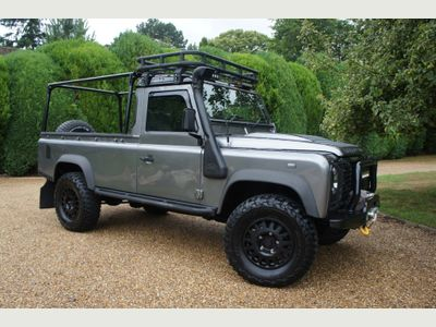 Land Rover Defender 110 Pickup 2.4 TDi Pick-Up 2dr
