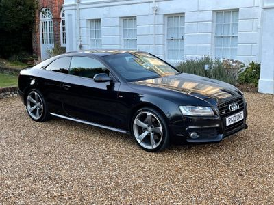 Audi A5 Coupe 2.0 TFSI Black Edition quattro 2dr