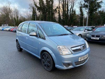 Vauxhall Meriva MPV 1.6 i 16v Club Easytronic 5dr
