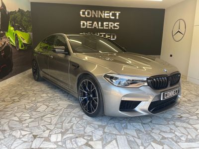 BMW M5 Saloon 4.4i V8 Competition Steptronic xDrive (s/s) 4dr