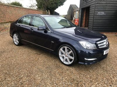 Mercedes-Benz C Class Saloon 2.1 C250 CDI BlueEFFICIENCY Sport 7G-Tronic 4dr