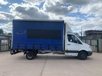 Mercedes-Benz Sprinter Curtain Side 2.1 CDI 513 Chassis Cab 4dr MWB