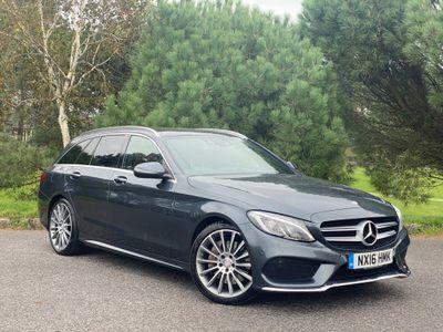 Mercedes-Benz C Class Estate 2.1 C250d AMG Line (Premium Plus) 7G-Tronic+ (s/s) 5dr