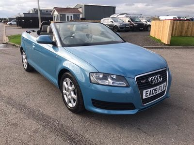 Audi A3 Cabriolet Convertible 2.0 TDI Cabriolet S Tronic 2dr