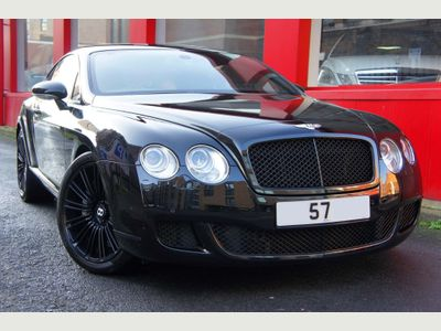 Bentley Continental Coupe 6.0 W12 GT Speed 2dr