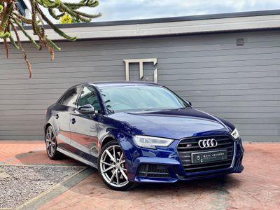 Audi S3 Saloon 2.0 TFSI Black Edition S Tronic quattro (s/s) 4dr