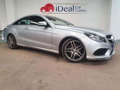 Mercedes-Benz E Class Coupe 2.1 E220 CDI AMG Sport 7G-Tronic Plus 2dr