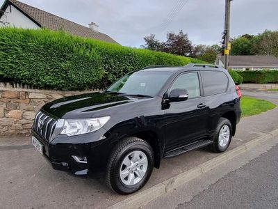 Toyota Land Cruiser SUV 2.8D Active Auto 4WD (s/s) 3dr