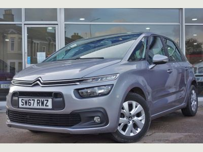 Citroen C4 Picasso MPV 1.6 BlueHDi Touch Edition EAT6 (s/s) 5dr