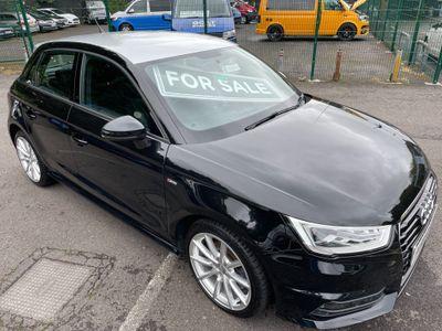 Audi A1 Hatchback 1.4 TFSI S line Sportback (s/s) 5dr (Nav)