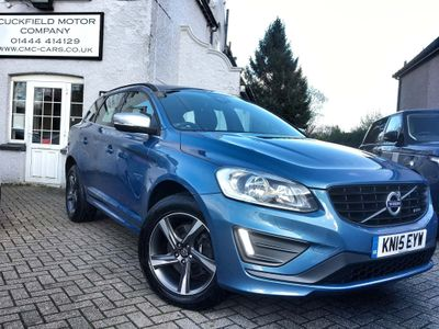 Volvo XC60 SUV 2.4 D4 R-Design Geartronic AWD 5dr
