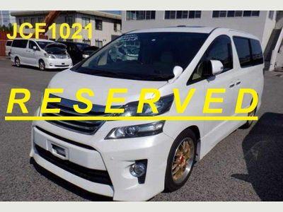 Toyota Vellfire MPV BUSINESS CLASS Z G EDITION 29900 MILES