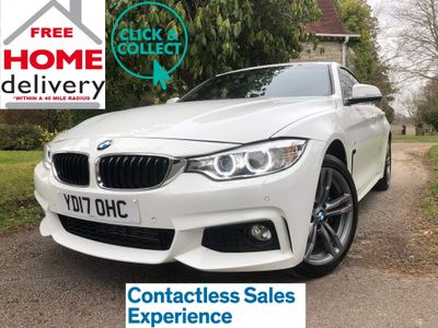 BMW 4 Series Gran Coupe Hatchback 2.0 420d M Sport Gran Coupe xDrive (s/s) 5dr