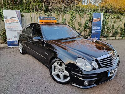 Mercedes-Benz E Class Saloon 6.2 E63 AMG G-Tronic 4dr
