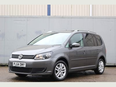 Volkswagen Touran MPV 2.0 TD BlueMotion Tech SE DSG 5dr (7 Seats)