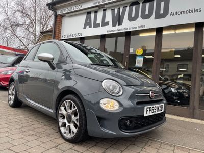 Fiat 500 Hatchback 1.2 8V Rock Star (s/s) 3dr