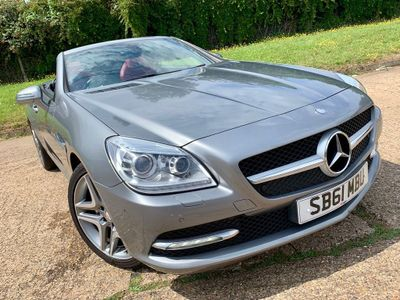 MERCEDES-BENZ SLK Convertible 1.8 SLK200 BlueEFFICIENCY 2dr