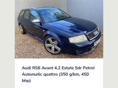 Audi RS6 Avant Estate 4.2 quattro 5dr
