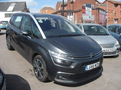 Citroen Grand C4 Picasso MPV 1.6 BlueHDi Feel (s/s) 5dr