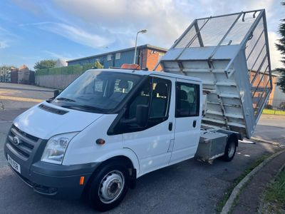 Ford Transit Tipper CAGED TIPPER DOUBLE CAB