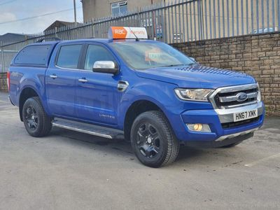Ford Ranger Pickup 2.2 TDCi Limited 2 Double Cab Pickup 4WD (s/s) 4dr (Eco Axle)
