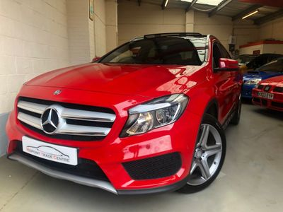 Mercedes-Benz GLA Class SUV 2.1 GLA200 AMG Line (Executive) 7G-DCT 4MATIC (s/s) 5dr