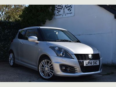 SUZUKI SWIFT Hatchback 1.6 Sport 3dr (+Nav)
