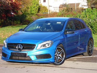 Mercedes-Benz A Class Hatchback 2.0 A250 BlueEFFICIENCY AMG Sport 7G-DCT 5dr