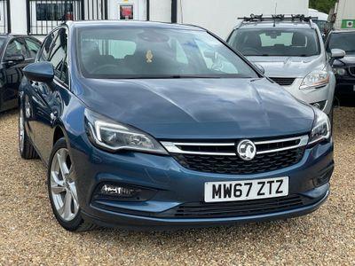 Vauxhall Astra Hatchback 1.4i Turbo SRi 5dr