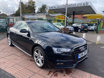 Audi A5 Coupe 2.0 TDI S line Multitronic (s/s) 2dr