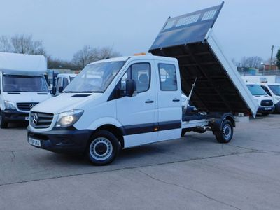Mercedes-Benz Sprinter Tipper 2.1 CDI 140PS CREWCAB 7 SEAT EUR6 F/S/H