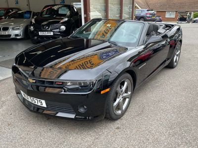 Chevrolet Camaro Convertible 3.8 2dr (LHD)