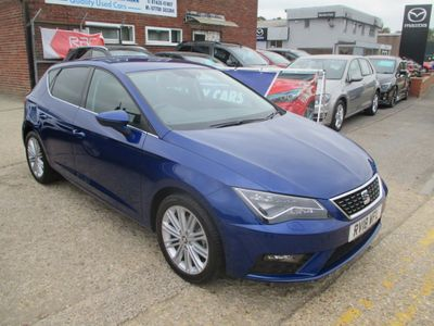 SEAT Leon Hatchback 1.4 EcoTSI XCELLENCE Technology (s/s) 5dr