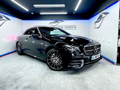 Mercedes-Benz E Class Convertible 3.0 E450 V6 AMG Line Cabriolet G-Tronic+ 4MATIC (s/s) 2dr