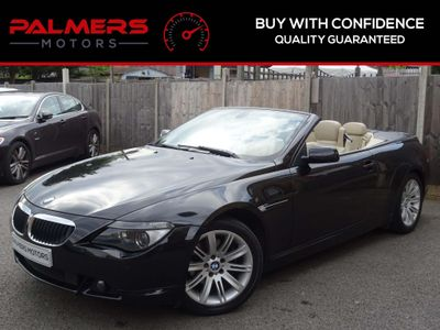 BMW 6 SERIES Convertible 3.0 630Ci 2dr