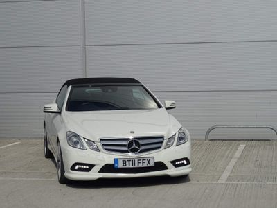 Mercedes-Benz E Class Convertible 2.1 E220 CDI BlueEFFICIENCY Sport Cabriolet 2dr