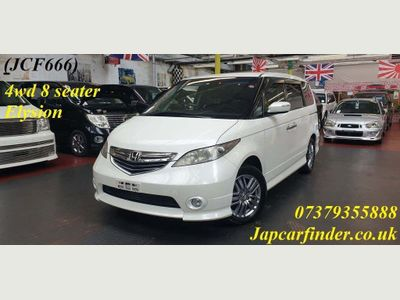 Honda Elysion MPV 4WD 8 seater Auto Camera roof screen