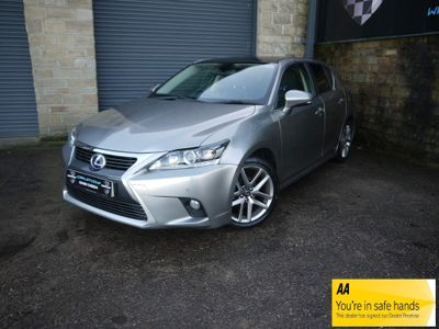 Lexus CT 200h Hatchback 1.8 200h Advance Plus CVT (s/s) 5dr