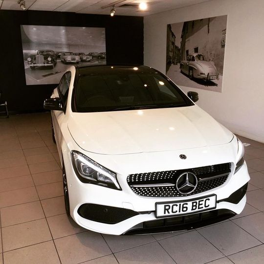 Mercedes-Benz CLA Class Used Cars For Sale In Wales On