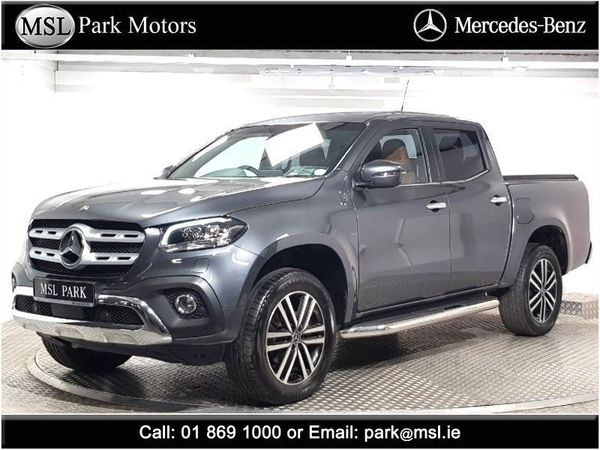 Mercedes-Benz X-Class 250d 4x4 Power - VAT invoice available - VIDEO - HUGE SPEC - Sliding boot cover - Leather interior - Heated seats - Running boards - Tray liner (2019 (191))